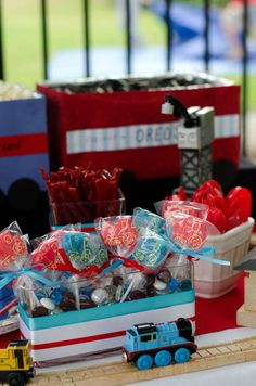 Thomas the Train Birthday Party Ideas | Photo 6 of 10 | Catch My Party
