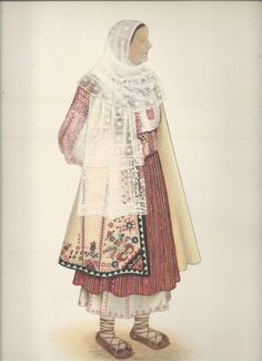 """Popular Roumanian Dress A Work Completed and Encouraged by the Initiative of His Majesty King Carol II Under the Care of Professor Dimitri Gusti By Alexandrina Enachescu-Cantemire Printed by """"Scrisul Romanesc Craiova, 1939 Folk Embroidery, Learn Embroidery, Popular Costumes, Folk Clothing, Fashion D, Folk Costume, Modest Outfits, Anthropology, Traditional Outfits"""