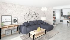 Couch, Modern, Furniture, Home Decor, Settee, Trendy Tree, Decoration Home, Sofa, Room Decor