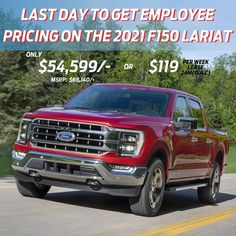 24 hours left to get Employee Pricing Deal on #2021 #F150 #Lariat Walk in to 4700 Sheppard Ave E, Toronto or call 416-292-1171 to know more about this deal! Driving Test, Lincoln, Toronto, Ford, How To Get