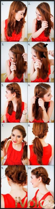 13 Easy & Quick Hairstyles To Look Elegance In Parties – Step By Step Tutorial – Gymbuddy Now