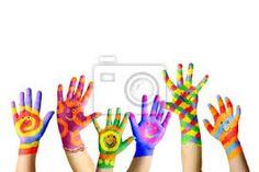 Risultati immagini per mani colorate artisti