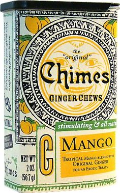 Chimes ginger chews