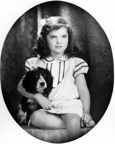 Jacqueline Kennedy née Bouvier by David Berne, 1935.
