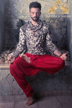 The 'YOGI': ' Feel the rhythm of life through your body, mind & soul into divinity.'  www.facebook.com/barkhaNsonzal www.twitter.com/barkhaNsonzal  #BarkhanSonzal #BarkhaSharma  #SonzalPatel, #BarkhaPatel #fashion  #menswear , #groomswear #India #sherwanis  #jackets #breeches #jodhpuris #funkywear #contemporary #dance #music