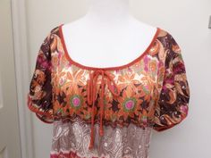 Dressbarn Woman Knit Top Blouse Size 3x Multi Color Polyester #dressbarn #KnitTop #Casual