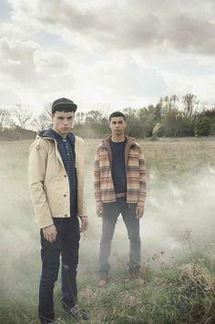 Lyle & Scott Vintage Autumn/Winter 2012 Lookbook: Consistent & Approachable British Young Men's Streetwear Styles