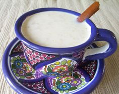 Mom made this for me every Christmas morning. Atole made with oatmeal. She made it even better by adding a disk of mexican chocolate. You can buy the abuelita brand at any grocery store with the mexican foods. Authentic Mexican Recipes, Mexican Food Recipes, Mexican Easy, Mexican Drinks, Mexican Dishes, Fall Recipes, Holiday Recipes, Atole Recipe, Mexican Chocolate