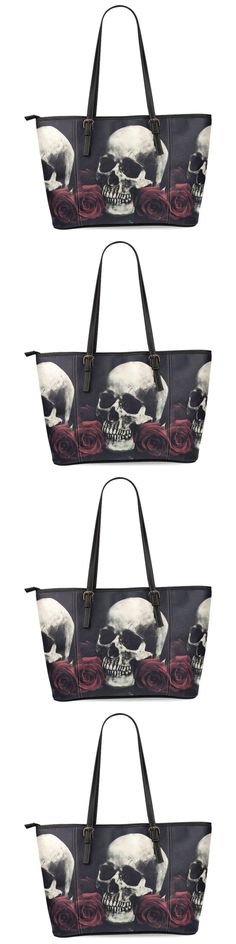 Women Handbags and Purses: Bag Leather Tote Women Handbag Shoulder Purse Satchel New Dasein Sugar Skull -> BUY IT NOW ONLY: $42.58 on eBay!
