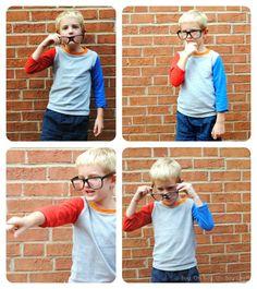 Boy, Oh Boy, Oh Boy Crafts: Colorblocked Cupcake Top