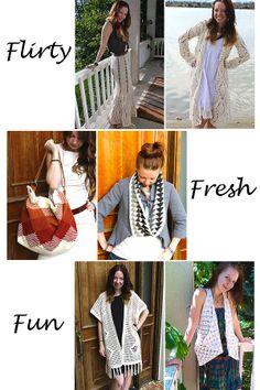 fbb3057ba411dc Six fabulous designs from Sara Dudek of Sans Limites Crochet - find them at  www.