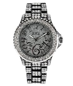 Love all the diamonds! Def a bling watch ! Lol