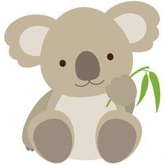 Resultado de imagem para clipart cute koala