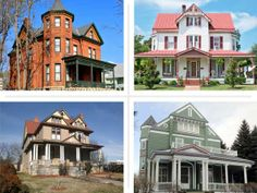 """If you favor elegant, stately Queen Anne, Second Empire, Shingle-style, and Victorian-era houses, these Best Old House """"Victorian"""" Neighborhoods have a lot to choose from. 