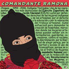 Adventures in Feministory: Comandante Ramona Ramones, Culture Jamming, Hispanic Heritage Month, New Fantasy, Teaching Spanish, Spanish Class, Power Girl, Women In History, Graffiti Art