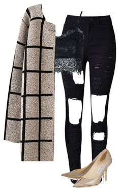 """""""Untitled #172"""" by jayla-gore on Polyvore featuring WithChic, Chicnova Fashion and Jimmy Choo"""