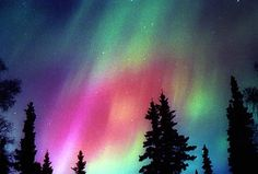 Aurora Borealis, Alaska skys