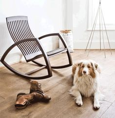 Nice Furniture Ideas   14 Awesome Modern Rocking Chair Designs // The Open Sides  And Floating Good Ideas