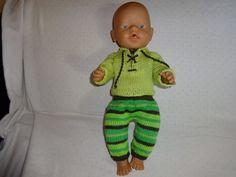 Puppenkleidung - Puppensachen Nr.24 - ein Designerstück von Marions-Strick-und-Bastelecke bei DaWanda