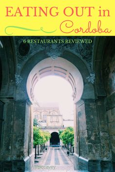 Restaurants to try in Cordoba Spain Visiting the Mosque or the Medina Azahara. Here are some tips on great local food in the city and where to find regional dishes for Spanish food fans.