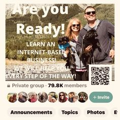 Building an internet-based business has been insightful, fun, inspiring and a success! ARE YOU READY! We will help you every step of the way even though there is high quality Training for you to follow! Connect with us! Online Work, No Way, Announcement, Connection, Success, Internet, Training, Digital, Business