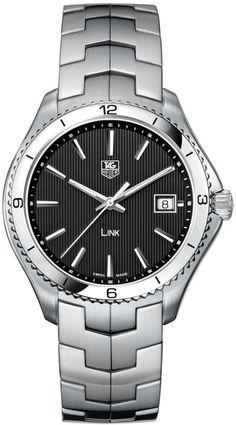 TAG Heuer Link Men Quartz Steel Watch WAT1110.BA0950 Free Overnight Shipping
