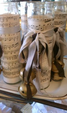 Jingle Bell Candles