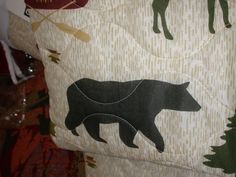 Deer, Eagles, Birds, Cabin, Deer, Moose, Canoe, Elk, Bear, Fish, Leaves & Pine cones, Cedar trees, Trout, ducks, geese. Quilts are a better buy than comforters due to tons more sewing therefore they hold up in washing much better. | eBay!