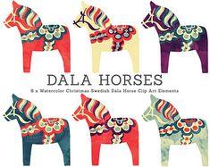 scandinavian horse template - Buscar con Google