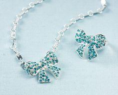 Flirty bow jewelry Martha Stewart Crafts Jewelry