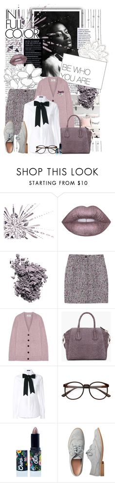 """""""Who.You.Are"""" by crystal85 ❤ liked on Polyvore featuring Lime Crime, Christian Dior, See by Chloé, Acne Studios, Givenchy, Dolce&Gabbana and Gap"""