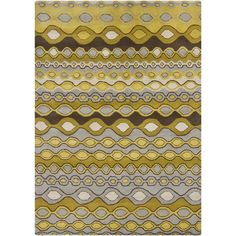 I pinned this Pocus Rug in Gold from the Chandra event at Joss and Main!