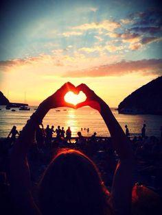 Ibiza Love Sunset