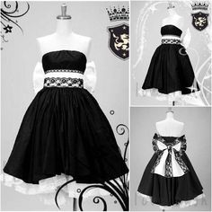 VOCALOID Magnet LUKA RUKA Black dress Cosplay Costume | eBay