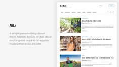 15+ Free Minimalist WordPress Themes and Templates for Blogs of 2020 Minimalist Wordpress Themes, Wordpress Free, Templates, Blog, Stencils, Vorlage, Blogging, Models