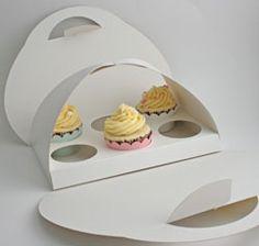 Cupcake Handbag Holds 6