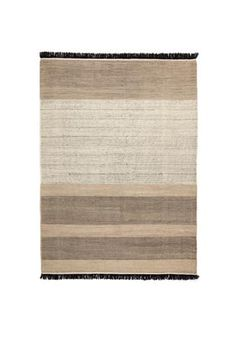 Tres Stripes Black - Rug from Nanimarquina Tres Collection