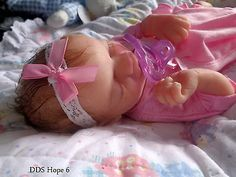 Full body ECO flex 20 platinum silicone Preemie baby Hope 6 can drink/wet diaper