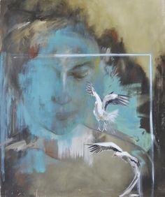 La primera exposición en España que muestra la fertilidad desde otra perspectiva Así lo ha simbolizado Maika Díaz a través de esta pintura. A partir del hoy