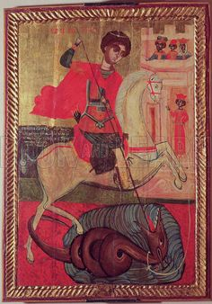 St. George and the Dragon, 1667.
