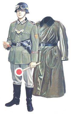 Army traffic police uniform sadomasochism
