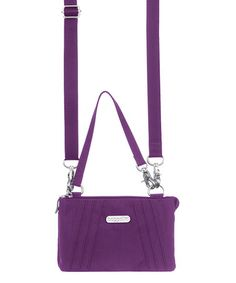 This Violet Cosmo Mini Crossbody Bag is perfect! #zulilyfinds