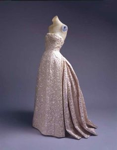 CHRISTIAN DIOR GOWN | Christian Dior dress ca. 1953 via The Costume Institute of the ...