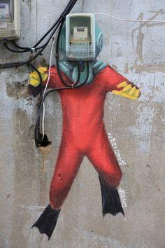 Street Art in Seoul!