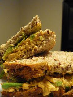 Chipotle Chicken Salad Sandwich