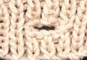 Learn How to Knit the Best Buttonhole from knittingonthenet