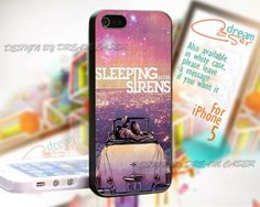Romantic Sleeping With Sirens - Print On Hard Case iPhone 5 Case