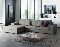 One of our most luxurious sofas, the Veronas wide arms and huge chaise section means there is plenty of room to lounge on this sofa. Available in two colours that are complimentary of its tubular chrome legs, the Verona is a great fusion of style and function. The seat, backs and loose cushion covers of this sofa are removable.