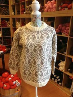 Sunndalskofta. Fair Isle Knitting, Lace Knitting, Knit Crochet, Norwegian Knitting, Draping, Norway, Sewing, Sweaters, Crafts