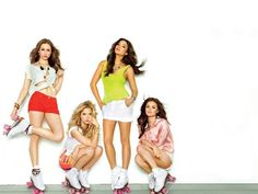 Pretty Little Liars: Troian Bellisario, Ashely Benson, Shay Mitchell, and Lucy Hale.